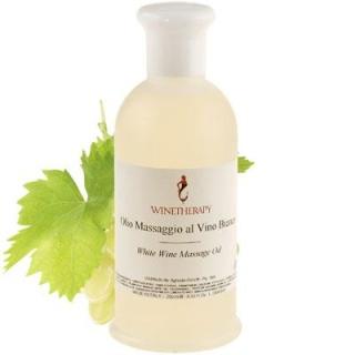 Olio massaggio al vino bianco